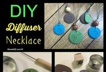 Aromatherapy DIYs / Simple and fun DIY projects featuring essential oils.