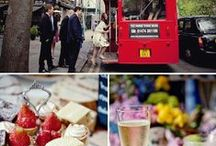 Best of British Weddings / Planning your wedding in Great Britain? A british themed wedding is stylish, chic and fun! From traditional/boho country style to London red buses with Pimms and strawberries, there's a theme to suit everyone #britwedding