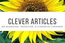 Clever Articles From Around The Web / Clever articles from around the web #mustread #blogging