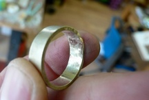 wedding jewellery / wedding band ideas for our make your own wedding ring workshops at Irish Design Shop