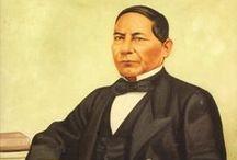 ARTE / Obras pictóricas y murales en donde destaca la figura del Benemérito de las Américas y/o de los miembros de su familia, realizadas en distintas épocas de la historia de México
