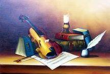 peintures toiles musique / La réunion de la musique et de la peinture : lorsque 2 arts se retrouvent au coeur de votre décoration.