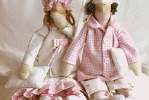 HANDMADE DOLLS AND OTHERS. / Handmade dolls / by Jagoda Jagodzńska