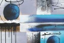 Un jour, une peinture sur toile / Chaque jour, une nouvelle peinture sur toile à découvrir.
