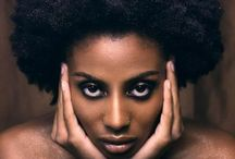Hair / All natural hair of an all natural woman.