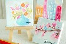Mini Card / Примеры маленьких открыток для вдохновения