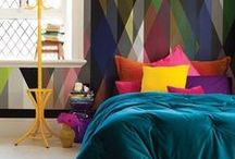 Bedrooms - Full of color