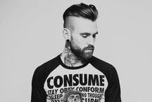 Styling Your Beard / Step up your beard game with style inspiration.