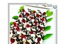 Deserts & Cakes / Elegantly designed to delight your guests.