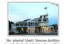 Admiral Nimitz Museum Events / Step back in time to the elegance of the 1800's at the Admiral Nimitz Museum for your next private party, wedding & reception or corporate event. The facilities provide the perfect location via a historical Texas landmark. Call 512.261.0142 to book this venue.