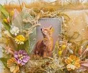 Soft cards / Мягкие открытки / Работы замечательной волшебницы рукодельницы Елены Волчковой. http://alisa-art.blogspot.ru/ и других мастеров