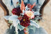 Autumn Wedding Ideas / Rich fall color pallets for your special day.