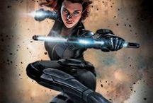 Marvel & DC Comics / voir le tableau 'Cinéma l Marvel & Comics' pour les affiches de film !