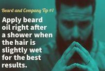 Grooming Your Beard / Helpful info on how to keep your beard in tip top shape.