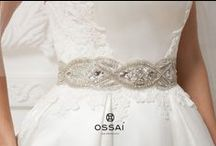 Ossai / Ossai Bridal belts sold at Hyde Park Bridal! <3