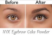 Regrowing Eyebrows / Sharing tips and products to regrow over-plucked and over-trimmed eyebrows the fast and healthy way.