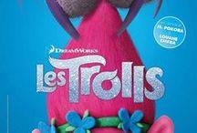 Dreamworks animation / Les Trolls, Shreck, Madagascar, Chicken Run, Fourmiz, Souris City, Nos voisins les hommes, Gang de requins, Le prince d'Egypte, Le chat potté, Les croods