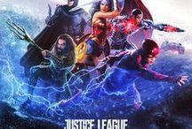 Marvel & DC Comics film posters / Affiches de cinéma. Voir aussi mon tableau 'Marvel & DC Comics' pour le fan art !