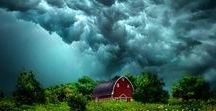 Contrasted outdoor (amazing clouds)