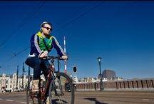 Amsterdams Bikers by Van Wier / Bikers in Amsterdam