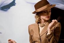 HICKORY Spy 1 - Mademoiselle  WW  / - Hickory Vintage fashion film idea mood boards - 40/50's style looks