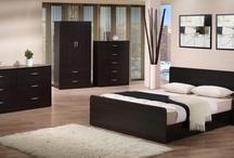 Lovin' It in Dark Colours / Bedroom suites and bedroom furnitures in dark colors.