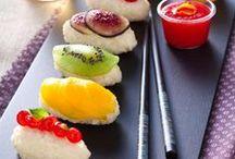 SUSHI IDEAS / Sushi, Maki, Sashimi