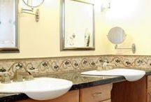 BATH REMODELS - LA/OC / Bathroom renovations by Morey Remodeling Group.