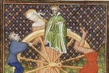 The Wheel of Fortune in Medieval Manuscripts