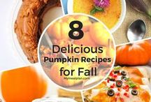 FALL RECIPES / A collection of fall recipes you just have to try