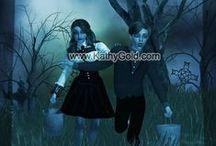Art Prints - Gothic Nursery Rhymes  / 16x 20 Art Print for your Walls