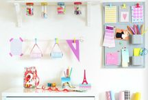 Craft Room Storage Solutions / by The Fiskateers