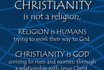 Christianity / My faith My belief Live by it Die for it