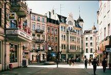 Middeleeuwse stad Torun / Het historische hart bestaat uit een goed bewaarde wooncomplex van middeleeuwse architectuur.