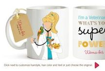 Gifts for your Veterinarian / Sometimes a veterinarian could really use a surprise gift from a pet parent. Working in the veterinary industry, you deal with a lot of negative people, so it is really nice to get a positive reactions from a pet parent.