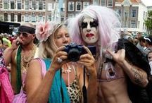 Hartjesdagen photography by Van Wier / Pictures I took during Hartjesdagen. A yearly recurring event where men dress up as women and vice a versa.  For more of my work see www.martinvanwier.com