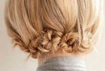 Up-dos for short hair / Hair