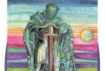 Tarot Page of Swords / The page of Swords