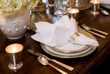 Tablescapes / Table settings for all occasions / by LRG Designs