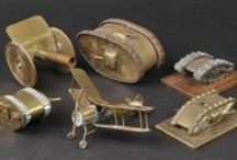Trench Art / Articles made in the trenches during WW1 from shell casings and other materials
