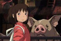 Spirited Away ~ Ghibli 2001 / by Midori Hisashige