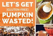 Gluten Free Pumpkin Recipes #GlutenFree / Gluten Free Pumpkin Recipes made with 7 ingredients or less. Check out more recipes at http://EasyGlutenFree.Recipes #glutenfree #gluten #celiac #glutensensitive #glutenintolerant