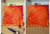 MY ART ..... MY LIVE / my creation, idea and tips @art @abstract @idea @technique @picture
