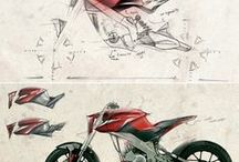 Two wheeled design