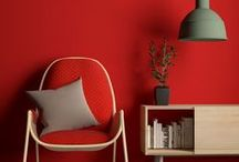 Red Art & Decor / Red is the color of love but red can also be so much more!