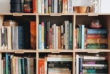 Bookshelves / A collection of the most beautiful bookshelves.
