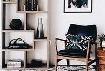 Living Room Art & Decor / Fancy decoration ideas for your living room. It's the place you spend most of your time, so make it something special. ❤