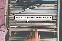 Music / Music connects people and because of this music is life. ❤