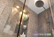 BADKAMERS / Regendouches, heerlijke ligbaden en andere badkamer inspiratie. Te zien in Eigen Huis & Tuin.