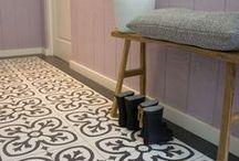 HALLEN / Inspirerende hal & trapmetamorfoses voor een leuke binnenkomer. Te zien in Eigen Huis & Tuin.